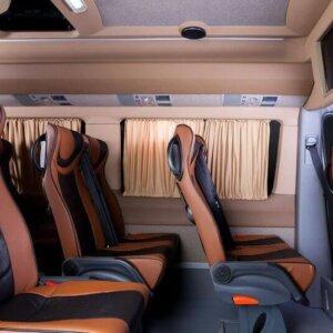 Самое безопасное место в микроавтобусе