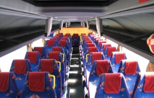 Выбор места в автобусе