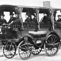 первый автобус в мире